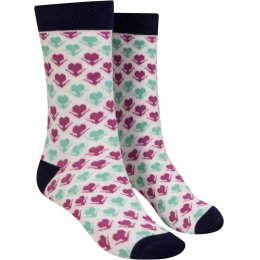 Mudd & Water Flower Print Organic Cotton & Bamboo Socks