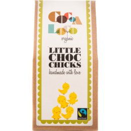 Cocoa Loco White & Milk Chocolate Chicks - 100g