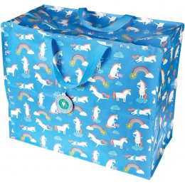 Recycled Jumbo Storage Bag - Magical Unicorn
