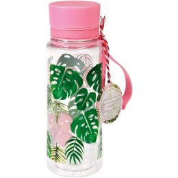 Tropical Palm BPA Free Water Bottle - 600ml
