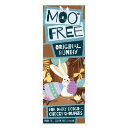 Moo Free Dairy Free Milk Chocolate Easter Bunny Bar - 32g