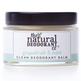 Natural Deodorant Co Clean Deodorant Balm - Grapefruit & Mint - 55g