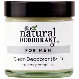 Natural Deodorant Co Clean Deodorant Balm For Men - 60ml