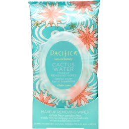Pacifica Cactus Water Make-up Removing Wipes - Pack of 30
