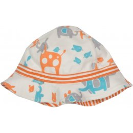 Kite Organic Cotton Reversible Safari Hat - Melon