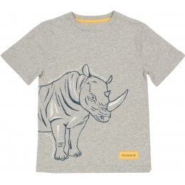 Kite Organic Cotton Rhino T-Shirt - Grey