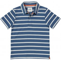Kite Organic Cotton Poole Polo Shirt - Navy