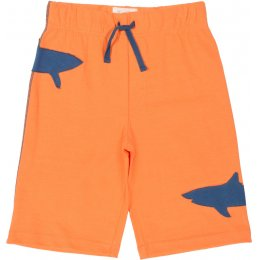 Kite Organic Cotton Shark Shorts - Melon