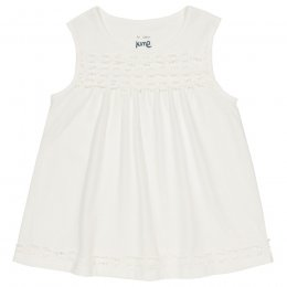 Kite Organic Cotton Daisy Chain Top - Ecru
