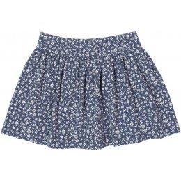 Kite Organic Cotton Ditsy Skort - Navy