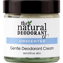 Natural Deodorant Co Active Deodorant Balm - Unscented - 60ml