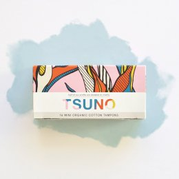 Tsuno Organic Cotton Tampons - Mini - Pack of 16