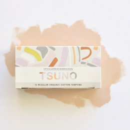 Tsuno Organic Cotton Tampons - Regular - Pack of 16