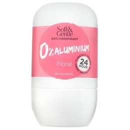 Soft & Gentle Aluminium Free Roll On Anti-Perspirant - Floral - 50ml