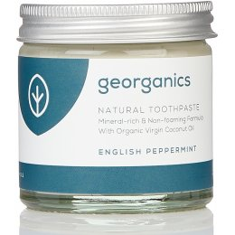 Georganics Natural Toothpaste - English Peppermint - 60ml