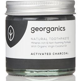 Georganics Natural Toothpaste - Activated Charcoal - 60ml