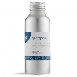 Georganics Oil Pulling Mouthwash - English Peppermint - 100ml