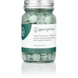 Georganics Mouthwash Tablets - Spearment - 180 Tabs