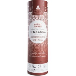 Ben & Anna Natural Soda Deodorant - Nordic Timber - 60g