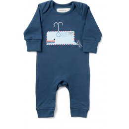 From Babies with Love Organic Whale Baby Grow