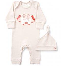 From Babies with Love Organic Crab Gift Set
