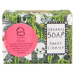Arthouse Meath Panda Party Organic Soap Bar - 100g