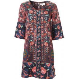 Thought Aubergine Tapestry Dress