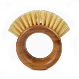 Full Circle The Ring Veggie Brush - Bamboo