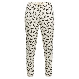 People Tree Organic Cat Print Pyjama Bottoms