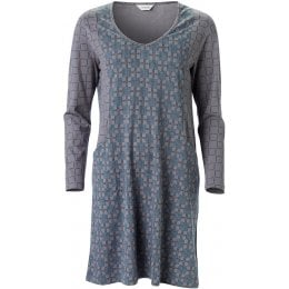 Nomads Printed Nightie - Silver