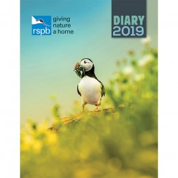 RSPB Giving Nature a Home 2019 Deluxe Diary