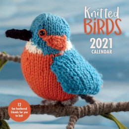 Knitted Birds 2021 Wall Calendar
