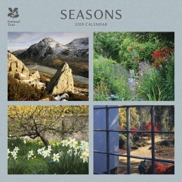 National Trust Seasons 2019 Wall Calendar