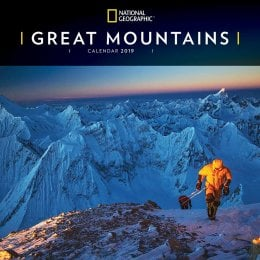 National Geographic Great Mountains 2019 Wall Calendar