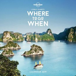 Lonely Planet Where To Go When 2019 Wall Calendar