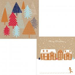 Help for Heroes Winter Scenes Christmas Cards 10pk