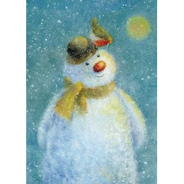 Snowman Charity Christmas Cards - Pack of 8