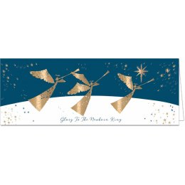 Glory to The Newborn King Charity Christmas Cards - 10 Pack