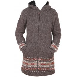 Womens Helsinki Coat - Bark