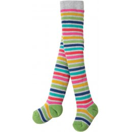 Frugi Toasty Tights -Stripe