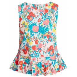 People Tree Floral Kama Top