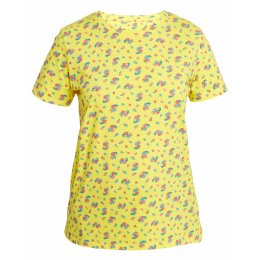 People Tree Yellow Mini Flower Tee