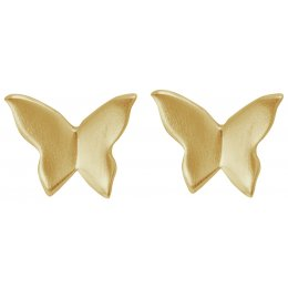 Kashka London Unfolding Gold Earrings