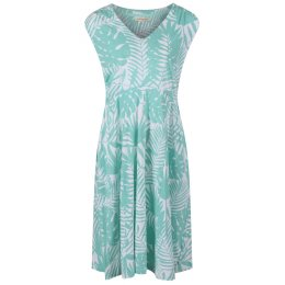 Mudd & Water Sea Green Palm Print Alice Dress