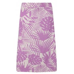 Mudd & Water Crocus Palm Print Cara Skirt