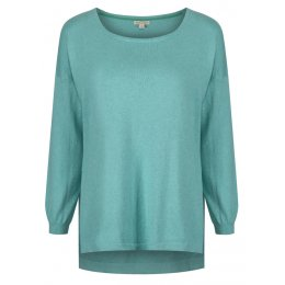 Mudd & Water Sea Green Ida Jumper