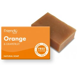 Friendly Soap Orange & Grapefruit Bath Soap - 95g