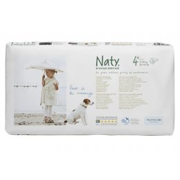 Naty by Nature Nappies Economy Pack - Junior Size 4  - Pack of 44