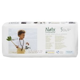 Naty by Nature Nappies Economy Pack - Junior Size 5 - Pack of 42