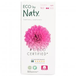 Eco by Naty Applicator Tampons - Regular - 16 pcs